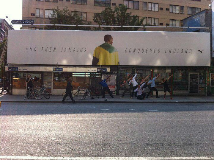 Look Yah: Puma Honour's Usain Bolt