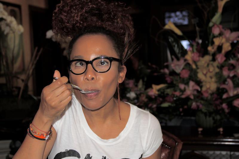 Birthday Love: Cedella Marley loves her Birthday Cake