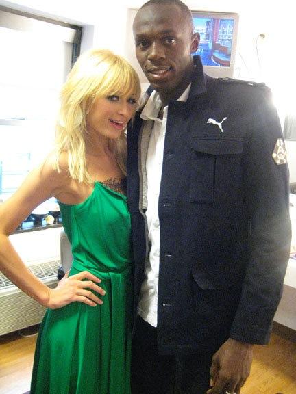 Look Yah: Paris Hilton & Usain Bolt