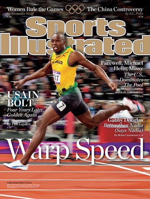 JA Olympics: Usain Bolt Covers Sports Illustrated