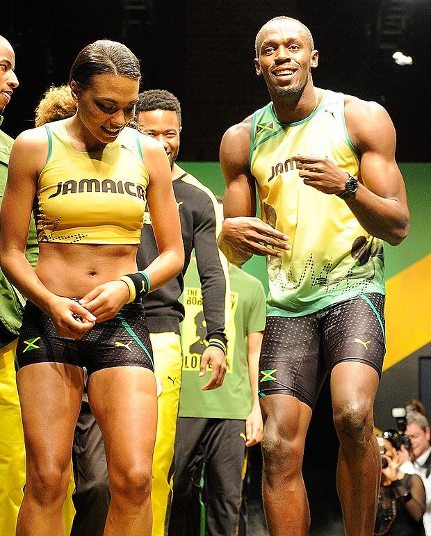 May 2012. Six months ago, Usain Bolt met fashion designer Lubica Slovak.