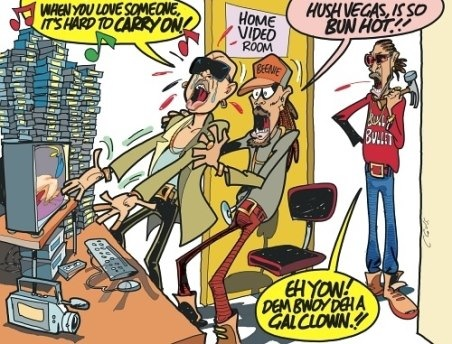 Funny Jamaica: Clovis Takes On The Mr Vegas Saga
