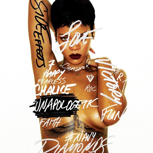 Look Yah: Rihanna Release's New Album Artwork