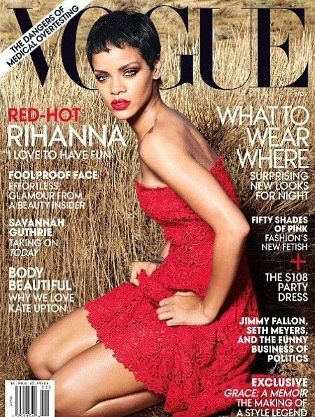 Look Yah: Rihanna Covers The November Issue of Vogue