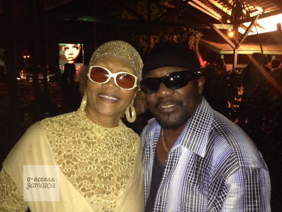 Marcia Griffiths & Toots hang out @ Peter Simon's Reggae Bloodlines Exhibition Launch