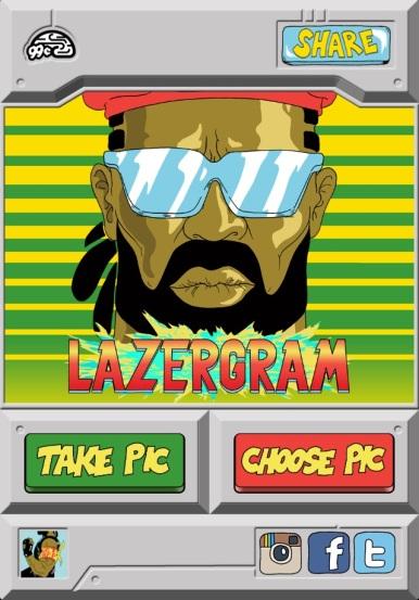 Lazergram