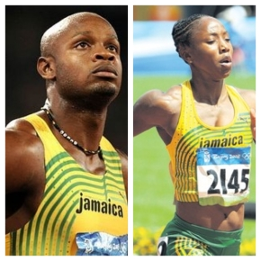 Oh Lawd!!! Asafa Powell & Sherone Simpson Tested Positive For Banned Stimulant