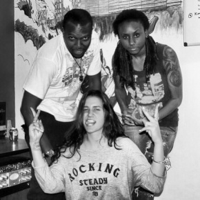 Kat Dahlia In Studio With Jamaican Producers The Wizard & Black Lion