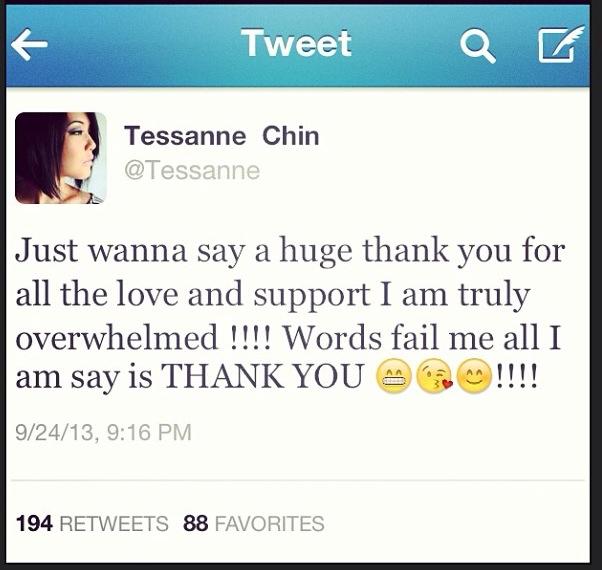 Tessanne The Voice Tweet 3