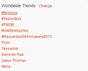 Tessanne Twitter Trending The Voice