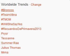 Tessanne Twitter Trending The Voice