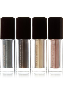 Kevin Aucoin set for loose shimmer shadows