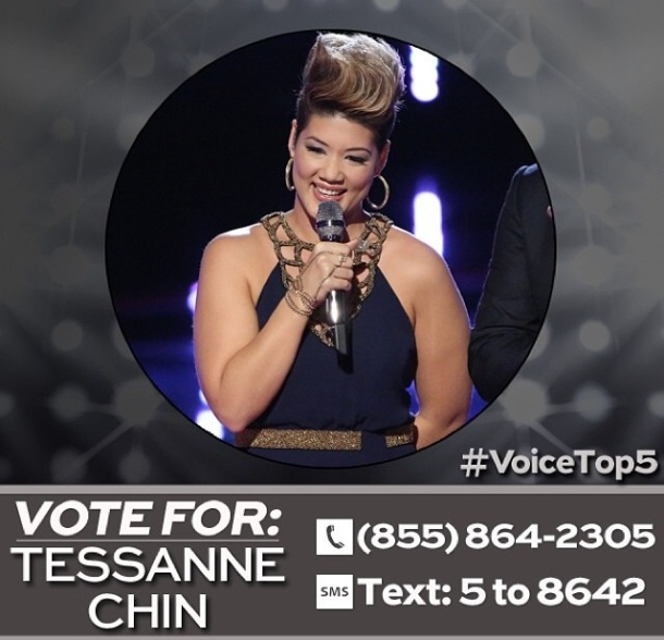Tessanne Vote Top 5