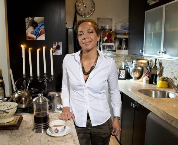Nina Compton in Kitchen