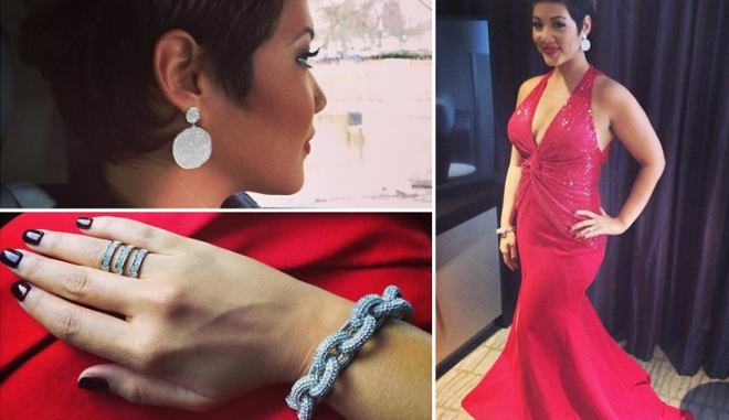 Tessanne Chin All Dressed & Ready For Her White House Performance.