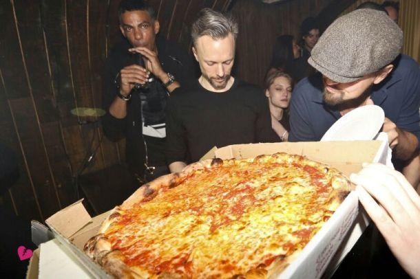 Leo & Pizza A Walshy's Birthday
