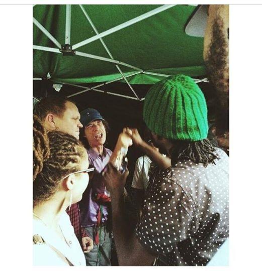 Chronixx meets Jagger