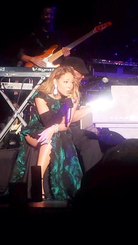 Mariah Carey JaJazz RyanEdgeOfGlory