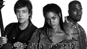 Watch!!! Rihanna, Kanye & Paul McCartney In FourFiveSeconds