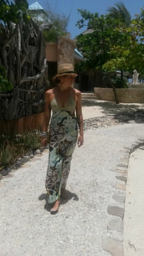 Sienna Miller Spotted In Jamaica Rocking A Local Designer's Dress