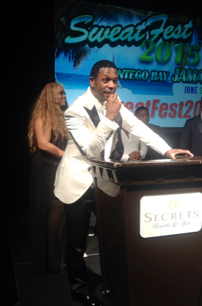 Keith Sweat at the BlackTie & Comedy Roast SweatFest 2015