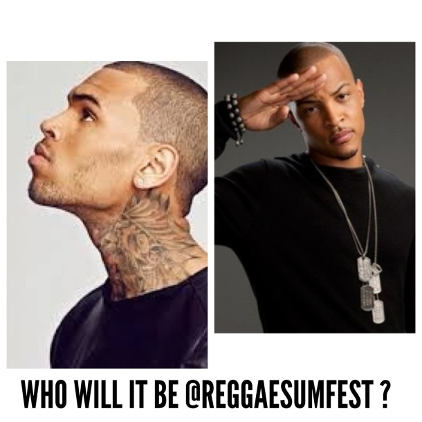 Breezy Or TI Reggae Sumfest