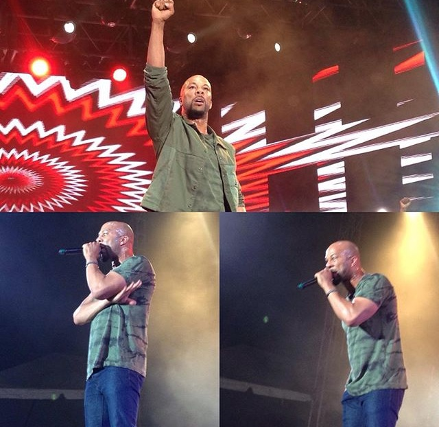 Common back in Jamaica since at 12 performing at Reggae Sumfest 2015
