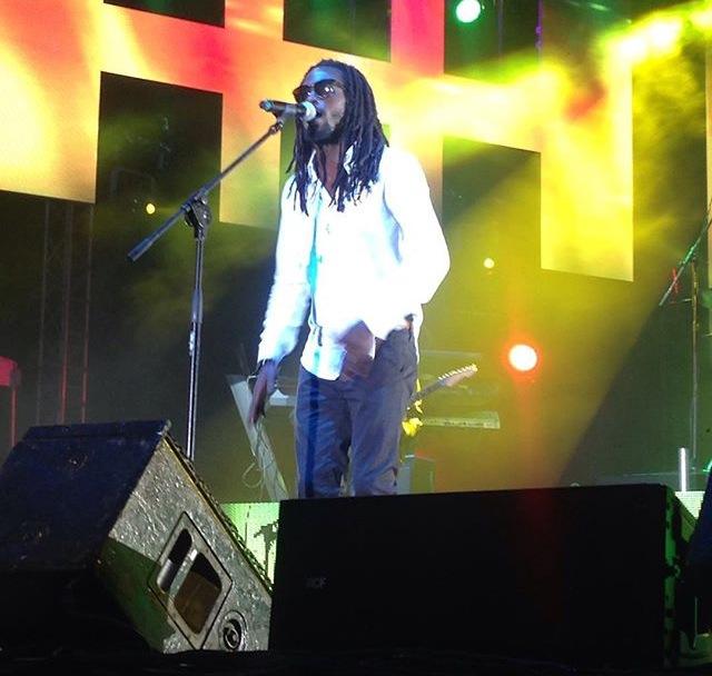 Jesse Royal performing at Reggae Sumfest 2015
