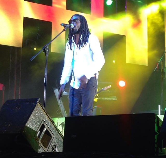 Jesse Royal performing at Reggae Sumfest 2015