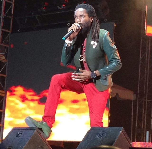 Kabaka Pyramid performing at Reggae Sumfest 2015