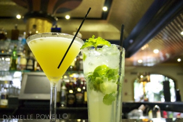 The Regency's Irish Honey & Classic Mojito