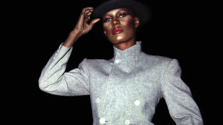 The Iconic Grace Jones. Photo by Adrian Boot