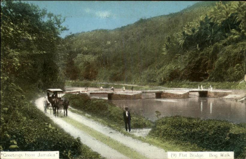 Flat Bridge in the early 1900's