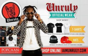 Popcaan Launches His Unruly Line Online