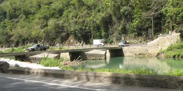 Flat Bridge, St Catherine, Jamaica.