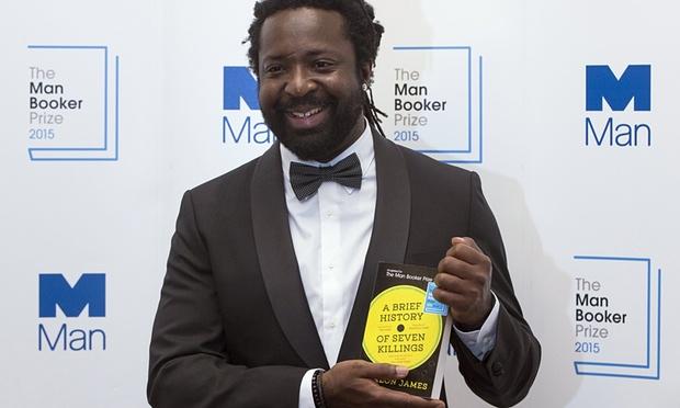 Marlon James Booker winner