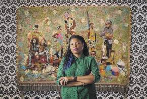 "Jamaican Artist Ebony G. Patterson ""Dead Treez"" In The Museum Of Arts & Design"