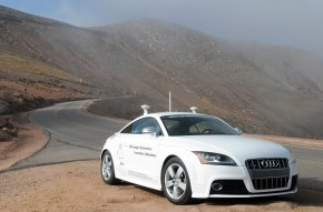 ATL Automotive GM Test Drives The New Audi Driverless RS7