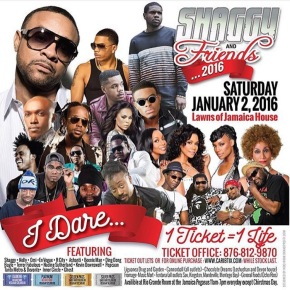 Watch!!! Shaggy & Friends Concert 2016 LIVE