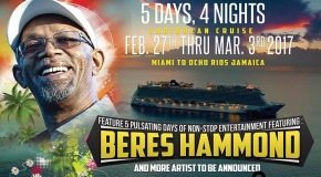 Join Beres Hammond On His Love & Harmony Cruise