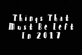 OAJ's Things That Must Be Left In2017